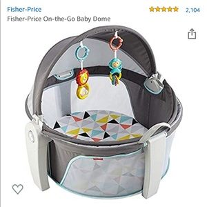 Fisher Price Portable On the Go Baby Dome